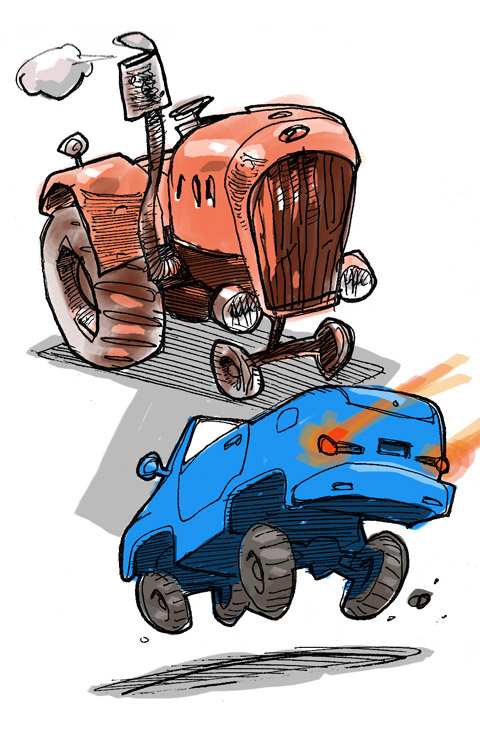 Tractor #0013