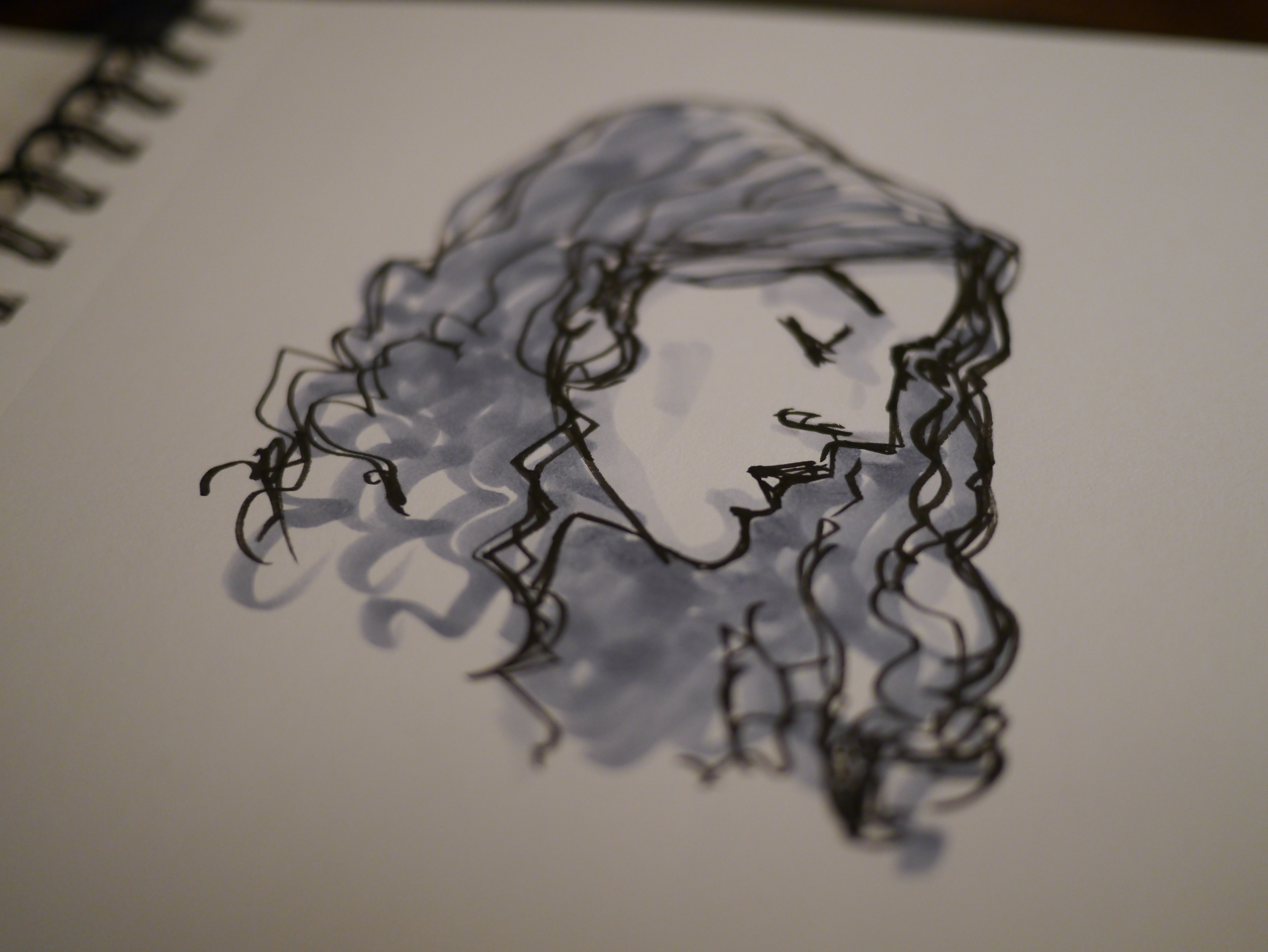 Sketching With Markers